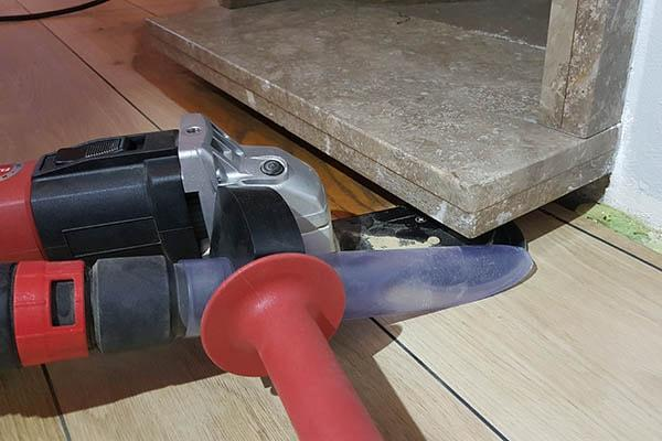 Eiken Vloer Schuren Moeilijk Plekken - AL Vloeren Venlo - Houten Vloeren Schuren Venlo