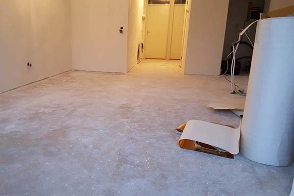 Multiplank eiken vloer leggen Venlo 01