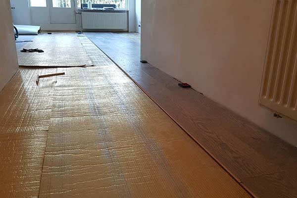 Multiplank eiken vloer leggen Venlo 02