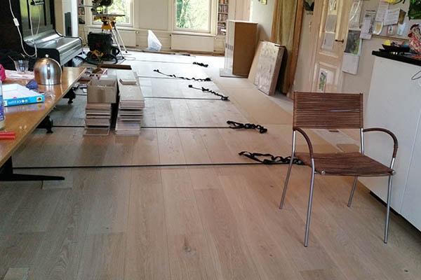 Multiplank eiken vloer zwevend leggen Venlo 02