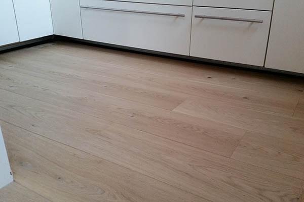 Multiplank eiken vloer zwevend leggen Venlo