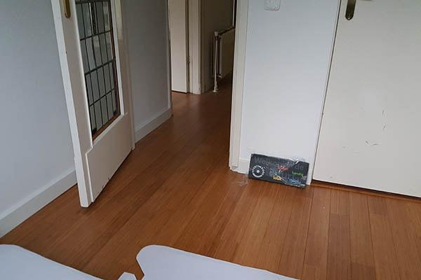 Purebamboo side pressed caramel vloer leggen Venlo