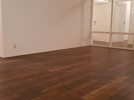 Bamboe forest vloer leggen appartement Venlo