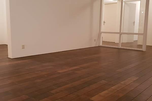 Bamboe forest vloer leggen appartement Venlo 00