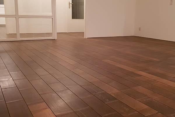 Bamboe forest vloer leggen appartement Venlo 03
