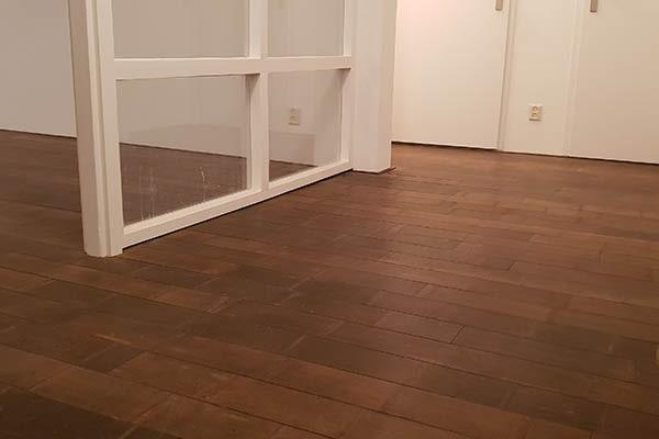 Bamboe forest vloer leggen appartement Venlo 04