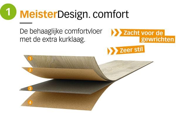 MeisterDesign comfort - AL Vloeren Venlo - productopbouw