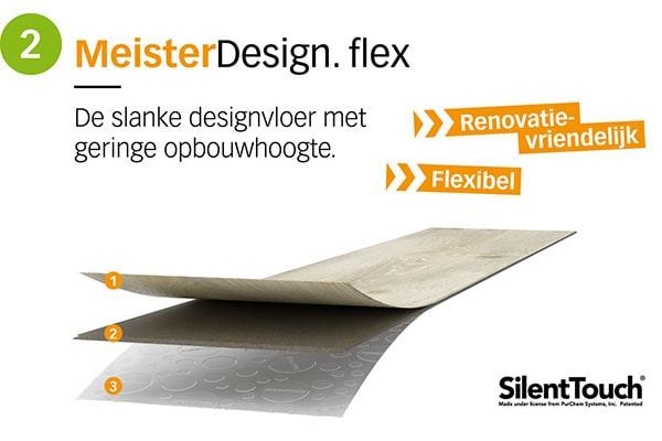 MeisterDesign flex - AL Vloeren Venlo - productopbouw