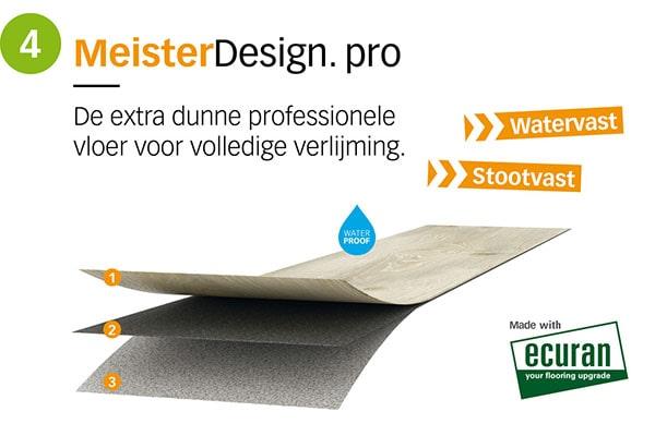 MeisterDesign pro - AL Vloeren Venlo - productopbouw