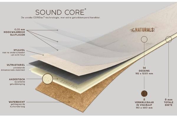 COREtec sound core - AL Vloeren Venlo - PVC vloer kopen Venlo