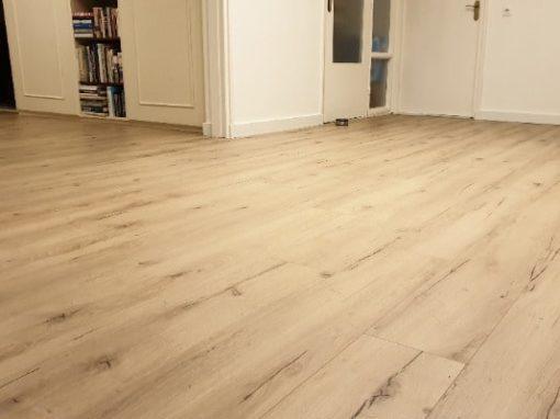 Meister laminaat vloer leggen appartement Venlo