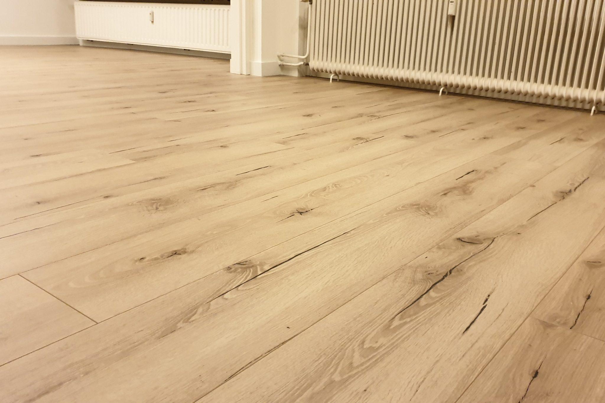 Meister laminaat vloer leggen appartement Venlo 04 - AL Vloeren Venlo