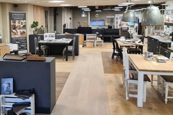 Vloeren Venlo showroom